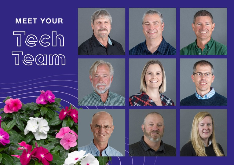 Meet Your Syngenta Flowers Tech Team