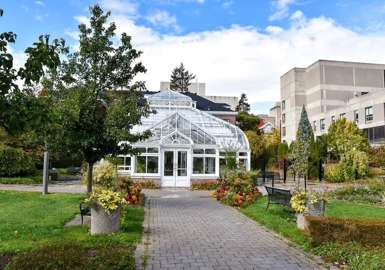 Rutherford Conservatory at the University of Guelph campus