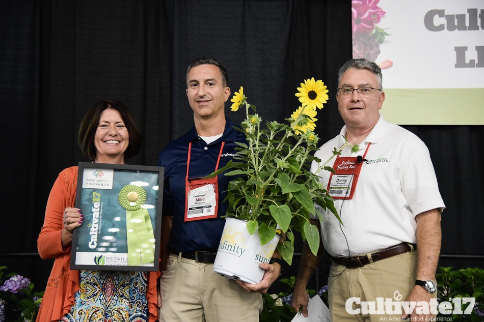 Retailer's Choice Award at Cultivate 2017