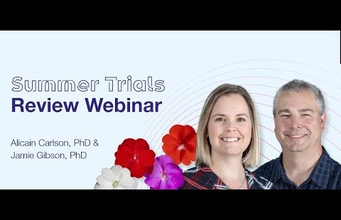 2021 Summer Trials Review   Presented by Alicain Carlson, Ph.D. and Jamie Gibson, Ph.D.